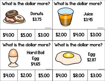 Bab's Breakfast Menu Math