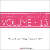 Babbling Abby Fonts Volume Thirteen