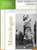 Women History - Babe D. Zaharias All-American Champion Athlete (1914 – 1956)