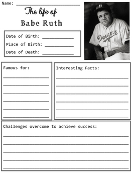 Babe Ruth Organizers