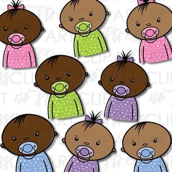 Babies Clip Art (Digital Use Ok!)