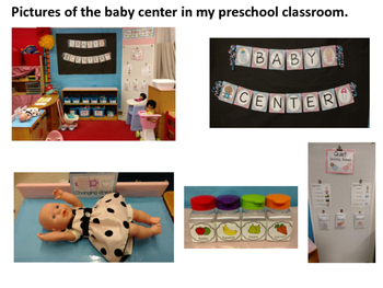 Babies Dramatic Play Center