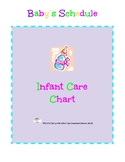 Baby's Schedule and Chore Chart