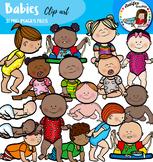Babies clip art
