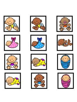 Babies vs. Kids Category Sorting