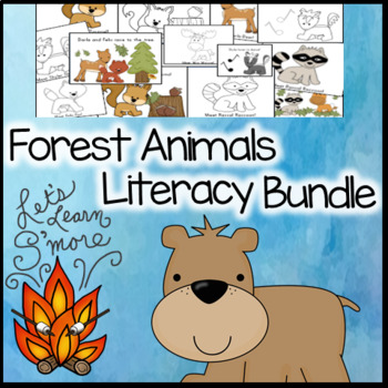 Forest Animals Literacy Activities, Bundle, For Your Fores