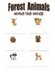 Forest Animals, Write the Room Posters,Writing Activities, For Your Forest Unit
