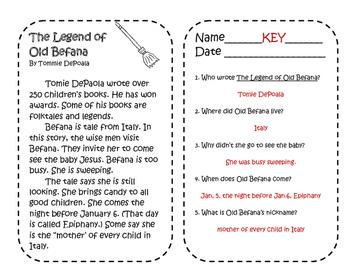 Baboushka and Befana - A Christmastime Comparison