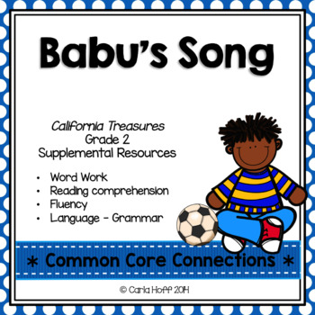 Babu's Song - Common Core Connections - Treasures Grade 2 ...