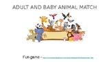 Baby/Adult Animal Match & Patterns