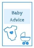 Baby Advice for Teacher