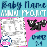 Baby Animal Name Research Project