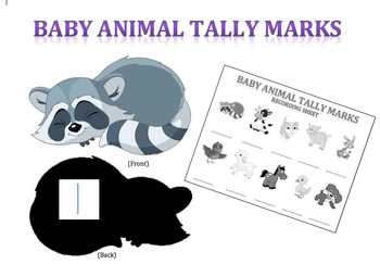 Baby Animal Tally Match Up