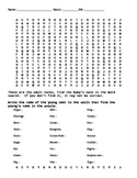 Baby Animal Word Search