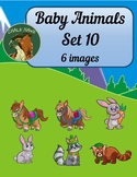 Baby Animals Clip Art Set 10