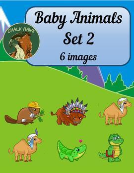 Baby Animals Clip Art Set 2