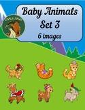 Baby Animals Clip Art Set 3