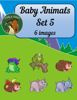 Baby Animals Clip Art Set 5