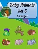 Baby Animals Clip Art Set 5