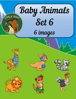 Baby Animals Clip Art Set 6