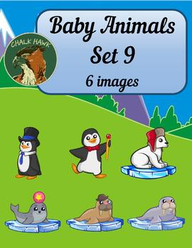 Baby Animals Clip Art Set 9