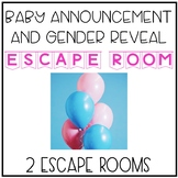 Baby Announcement and Gender Reveal Solve the Room Scavenger Hunt