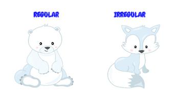 Baby Arctic Animals Irregular Verbs