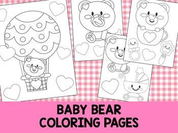 Baby Bear - The Crayon Crowd Coloring Pages