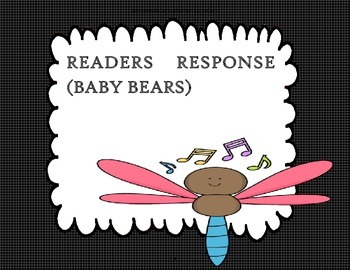 Baby Bears - 2nd Grade - Reader Response Questions Trifolds+Activities