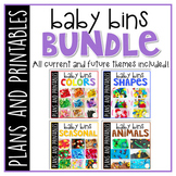 Baby Bins: Early Learning Curriculum {Plans and Printables