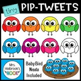 Baby Bird Clipart: Tiny Pip-Tweets