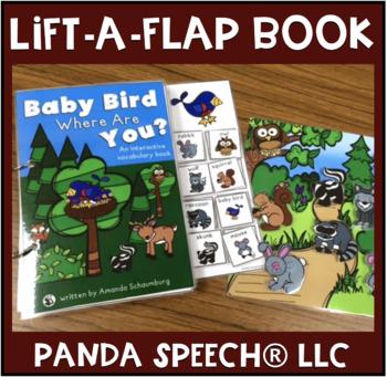 Baby Bird Where Are You ?  An interactive & adaptive book
