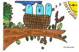 Elementary Visual Art Project - Baby Birds