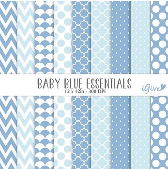 """Baby Blue Papers - """"Essentials"""""""