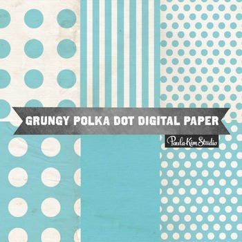 Digital Paper - Light Blue