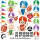Baby Boy Clipart, Nursery Clipart, Football Clipart, Sports Clip Art, AMB-2428