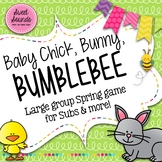 Baby Chick Bunny Bumblebee Freeze - Smart Board Game and Printables