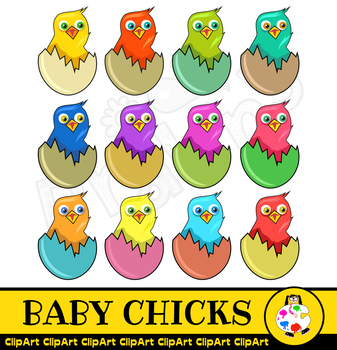 Baby Chick Clip Art Egg Hatchling