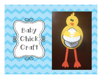 Baby Chick/Hatching Eggs Craft