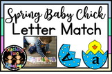 SPRING Baby Chick Letter Matching Activitiy