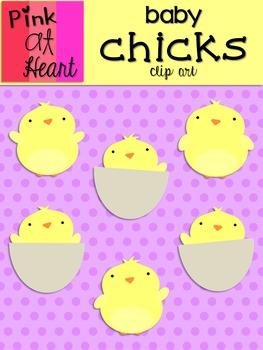 Baby Chicks Clip Art