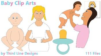 Baby Clip Arts