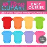 Baby Clothes Bright Clip Art (Digital Use Ok!)