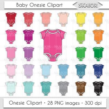 Baby Clothes Clipart Onesie Clipart Rainbow Nursery Baby Shower Clipart