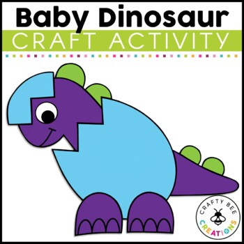 Baby Dinosaur Cut and Paste