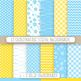 Baby Duck, Banner and Digital Paper Set - 55 PNG & JPEG images.