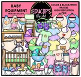 Baby Equipment Clip Art Bundle {Educlips Clipart}
