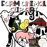 Baby Farm Animal Clip Art {Personal and Commercial Use}
