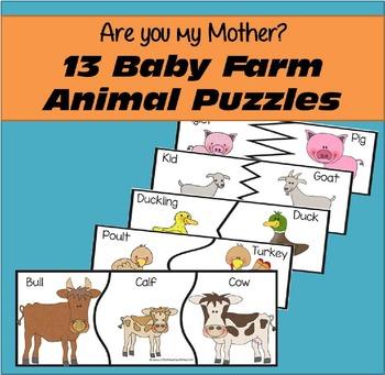 Baby Farm Animal Puzzles