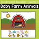Baby Farm Animals Emergent Reader